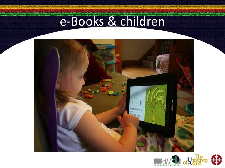Slide02 Children and adults can read e Books easily using devices such as the Kindle ...